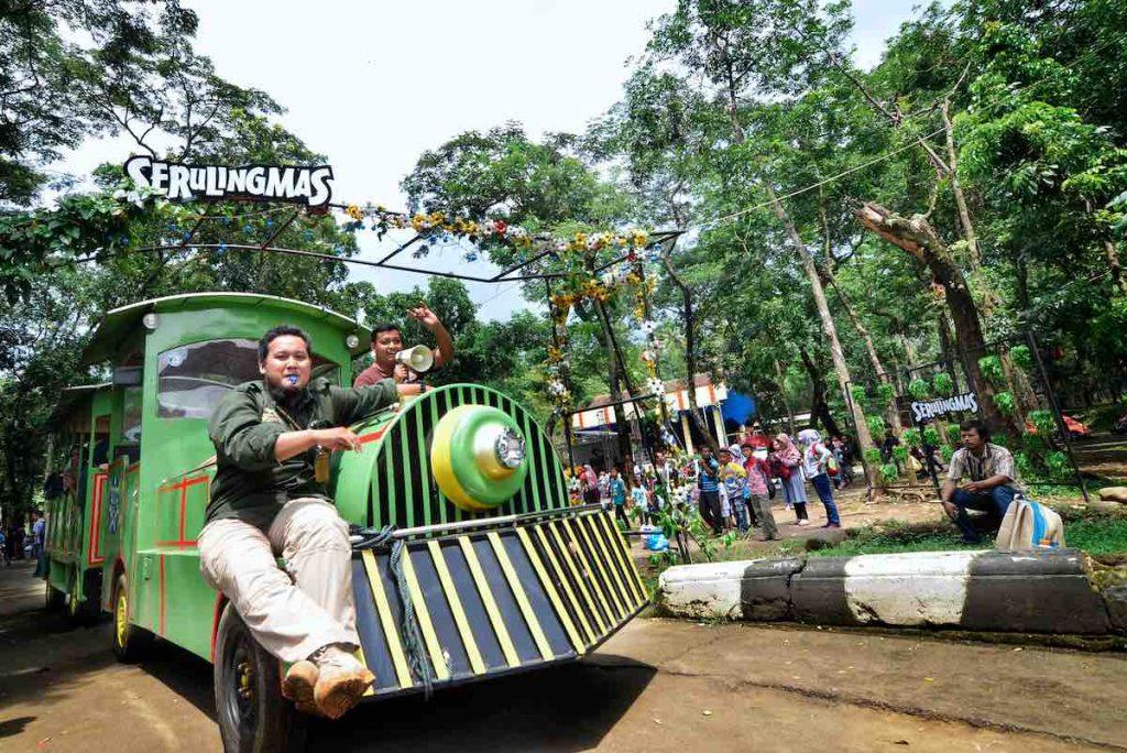 Kereta mini Serulingmas Zoo