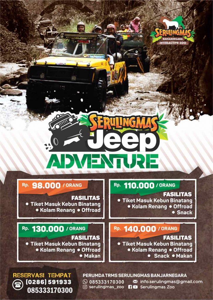 PAKET JEEP ADVENTURE SERULINGMAS