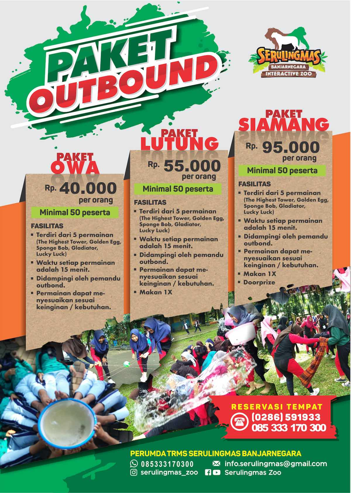 PAKET outbound SERULINGMAS